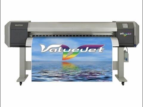 MUTOH Valuejet VJ-1604 Full-Colour Inkjet Printer Service Repair Manual