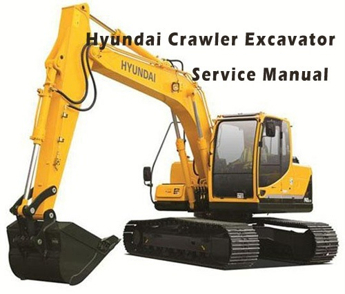 Hyundai Crawler Excavator R1200-9 Service Repair Manual Download