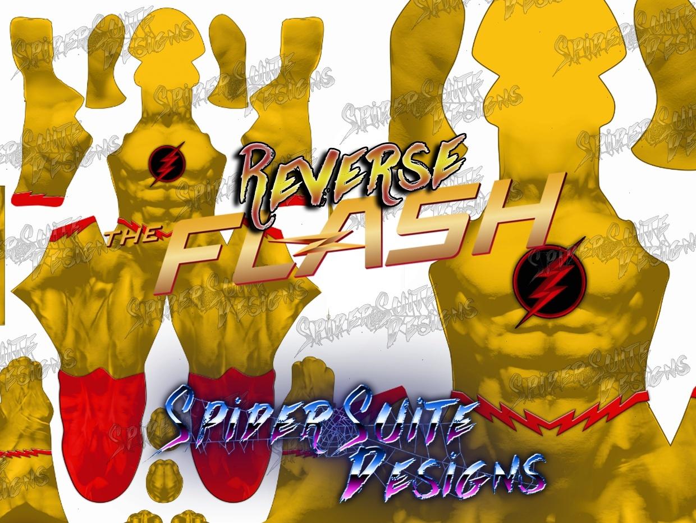 Classic Reverse Flash 2017 Pattern