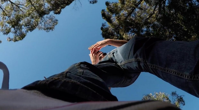 Damon stomps and feet
