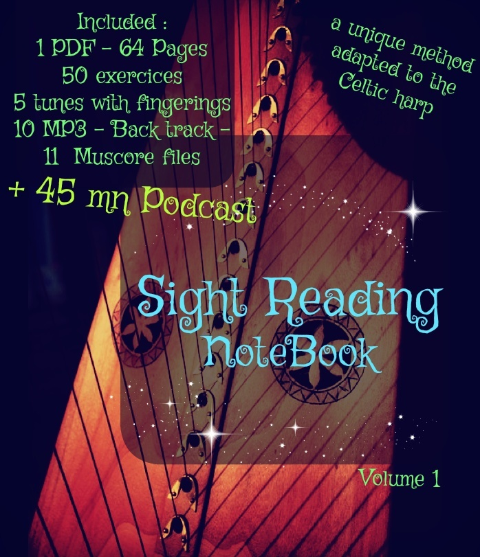 2 -SIGHT READING VOL 1 FOR LEVER HARP  + PODCAST PACK -