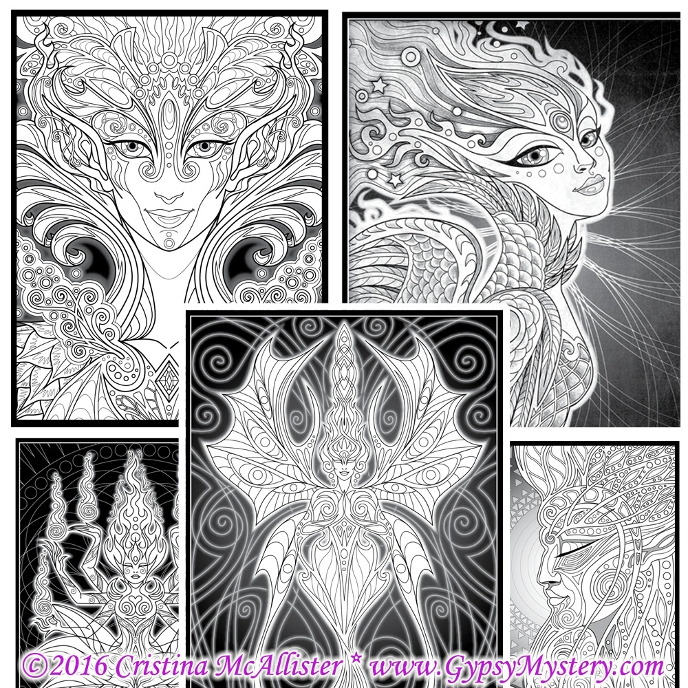 """The Lumina Chronicles"" Coloring Story Book Digital Edition - download and print Coloring Book"