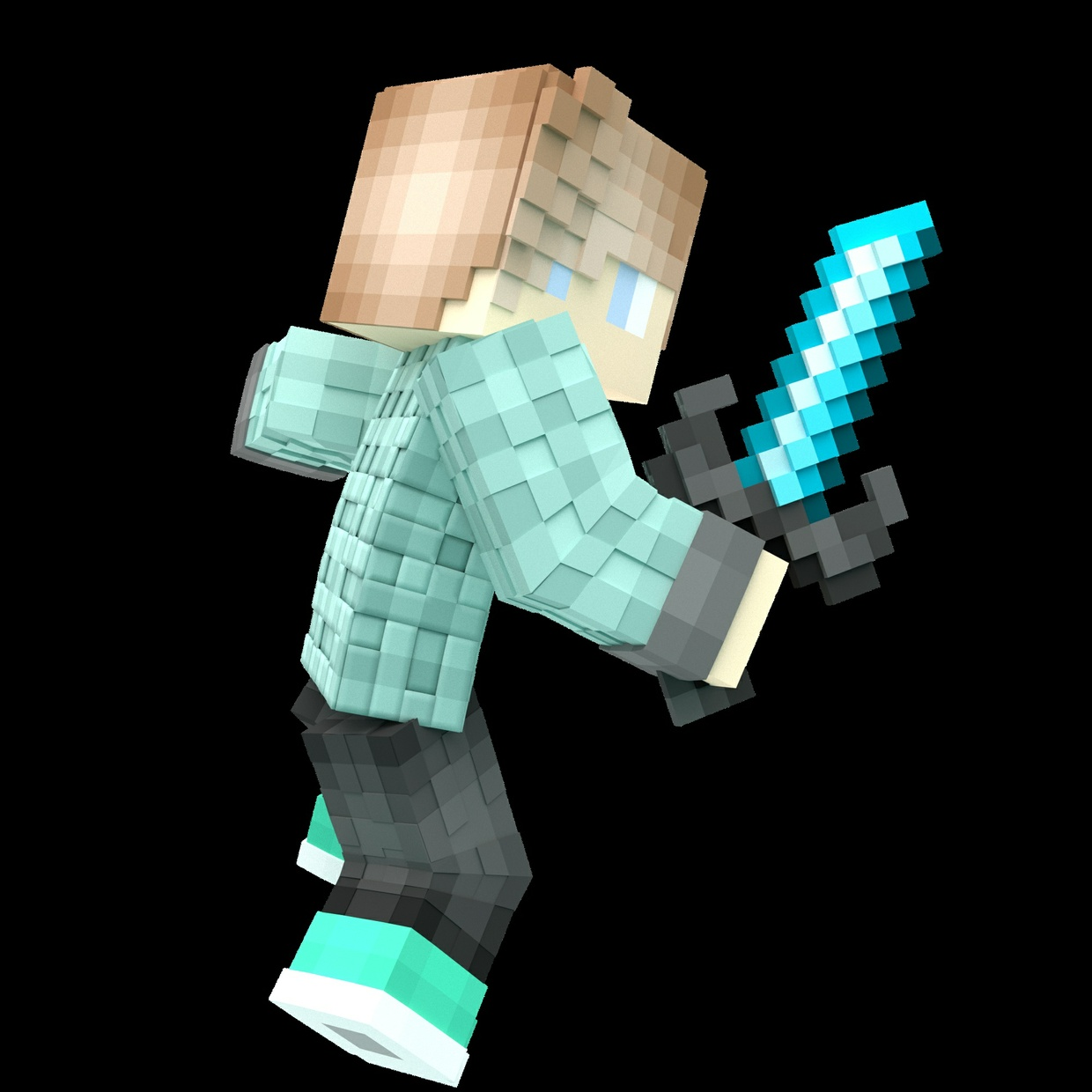 Minecraft Simple Render (Pfp) 90 Cents!!!