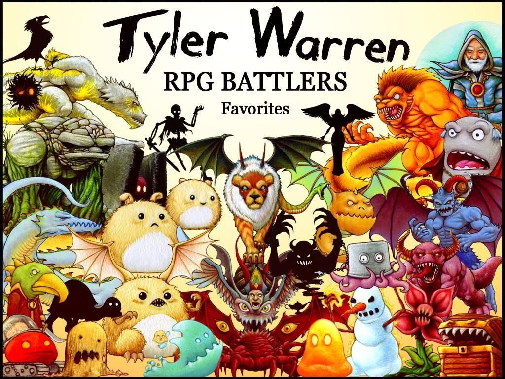 FREE - Tyler Warren RPG Battlers - Favorites Pack (30)