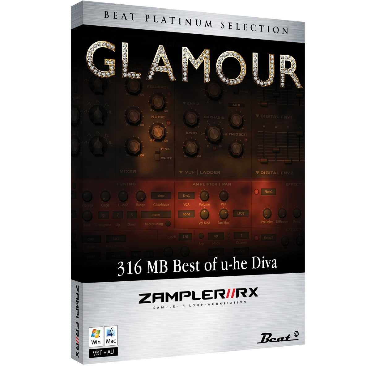 GLAMOUR – Sound bank for Zampler//RX workstation (Win/OSX plugin included)
