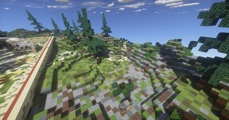 Server Spawn- Desert Forest [200x200]