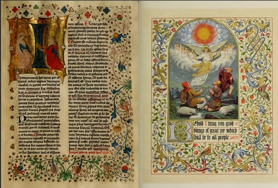 Illumination - Illuminated Manuscripts
