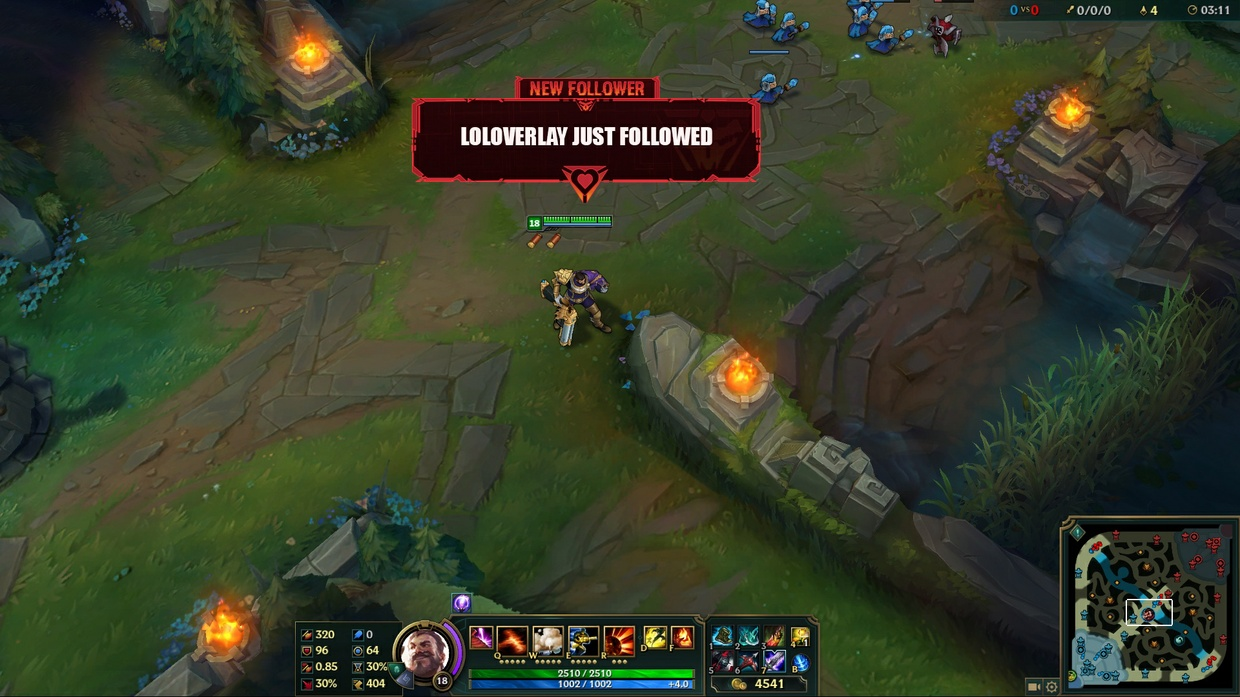 PROJECT JHIN - TWITCH ALERTS