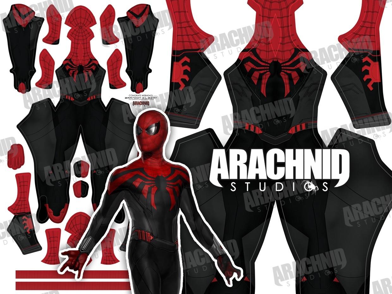 Superior MCU Spider-Man Dye-sub pattern