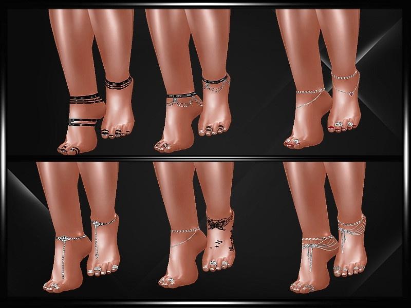 """Feet jewels"""""""