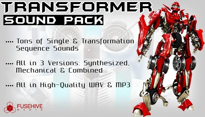 TRANSFORM SOUND EFFECTS - Sounds of Transformers and Robot Transforming