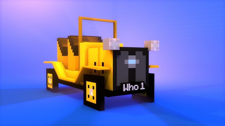 C4d Blender Minecraft Doctor Who Models Subdivide