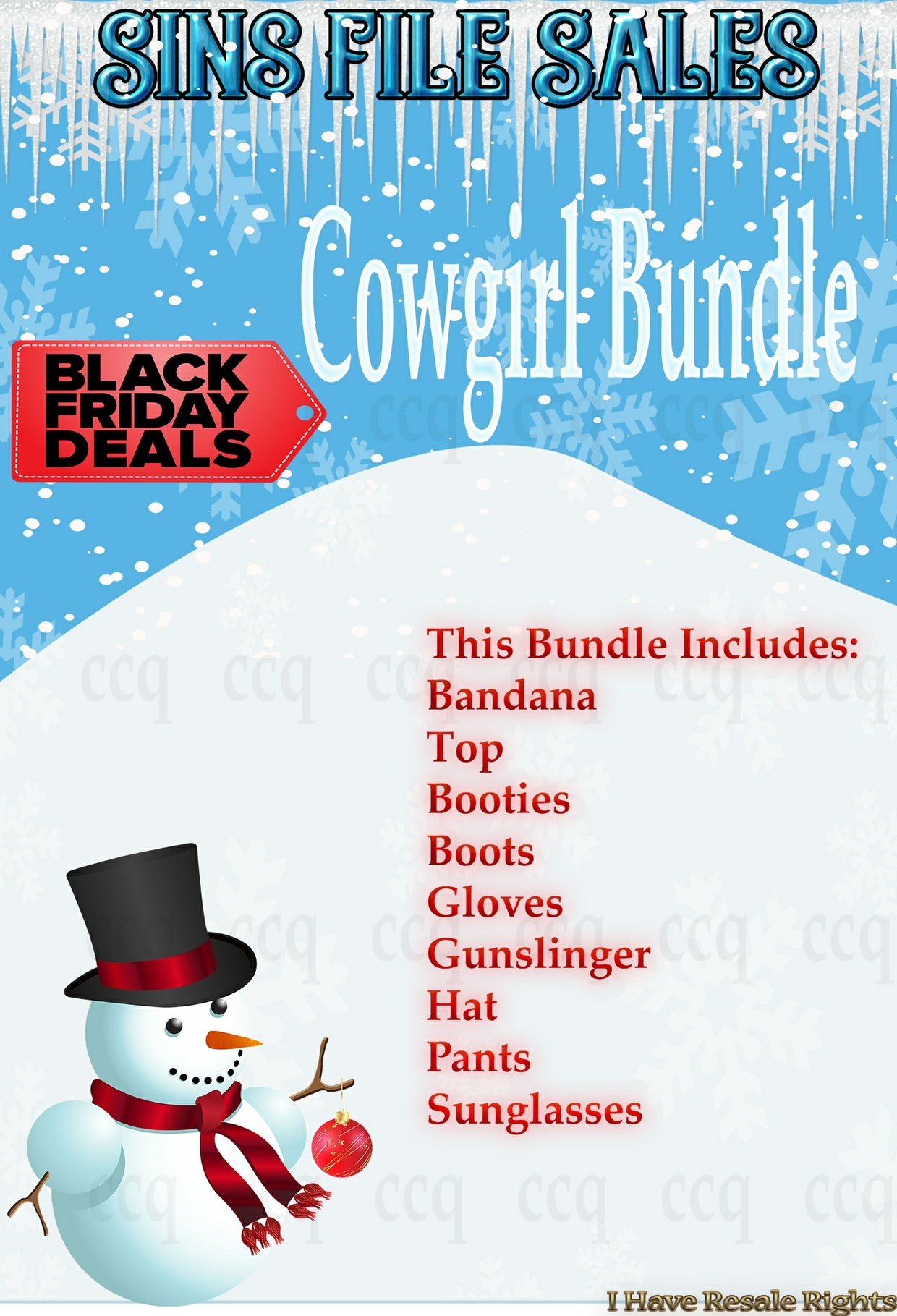 Cyber Monday Deal: Cowgirl Bundle