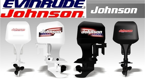 EVINRUDE/JOHNSON 85-300 HP TWO-STROKE OUTBOARDS SERVICE MANUAL (INCLUDES JET DRIVES),
