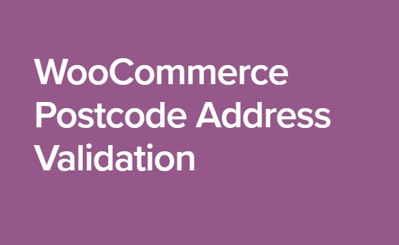 WooCommerce Postcode Address Validation 2.2.1 Extension