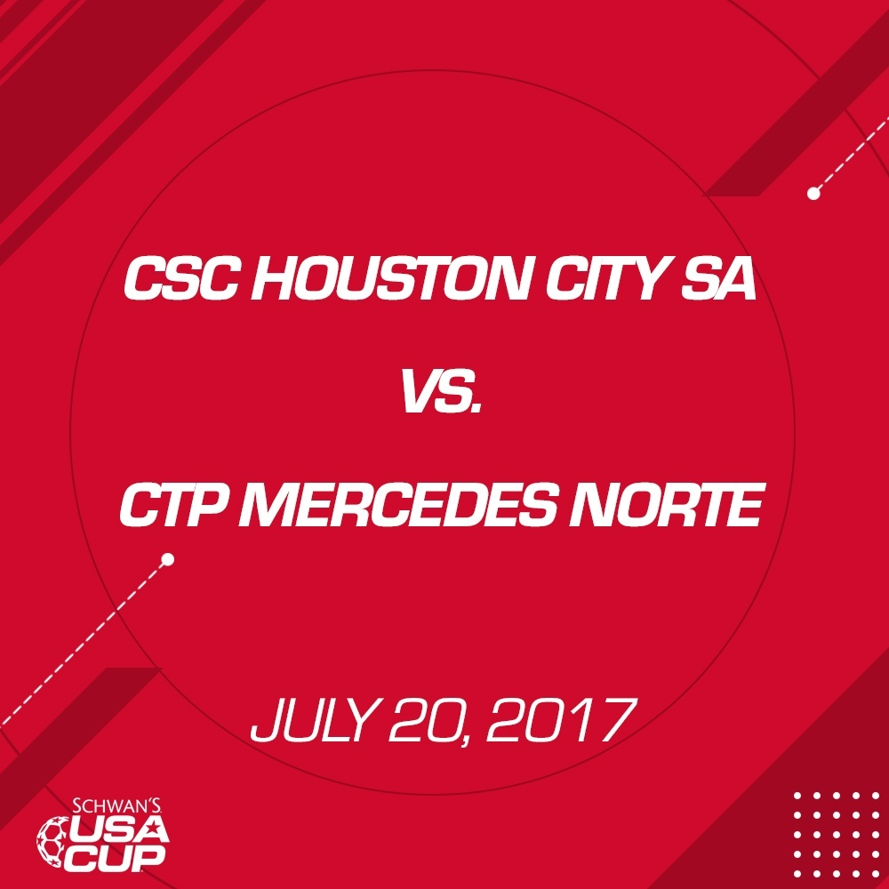 Boys U17 Gold - July 20, 2017 - CSC Houston City SA 00B vs CTP Mercedes Norte