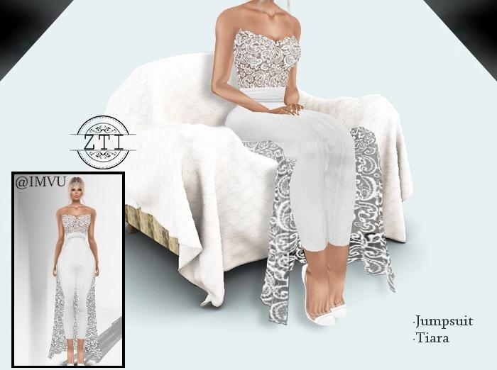Jumpsuit Wedding Dress 341