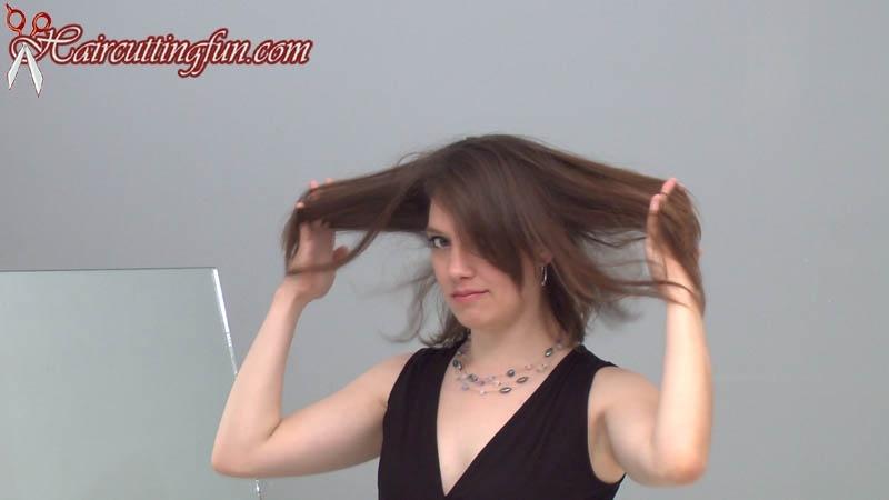 Kat Kempes Crop Haircut - VOD Digital Video on Demand