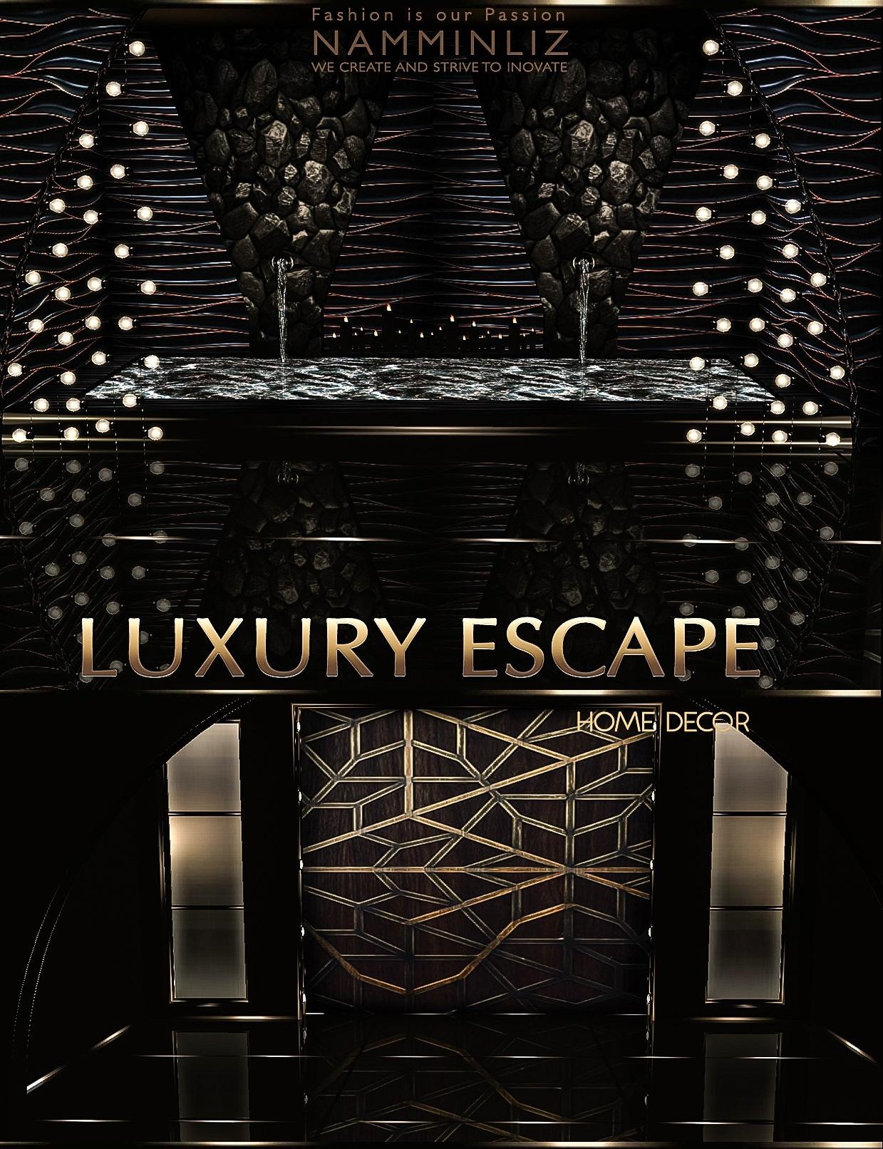 Luxury Escape Home decor imvu •27 Textures JPG •7.CHKN