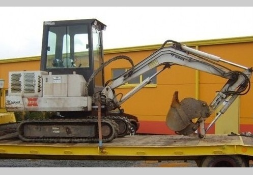 Bobcat X231 Hydraulic Excavator Service Repair Workshop Manual DOWNLOAD (S/N 508911999 & Below)