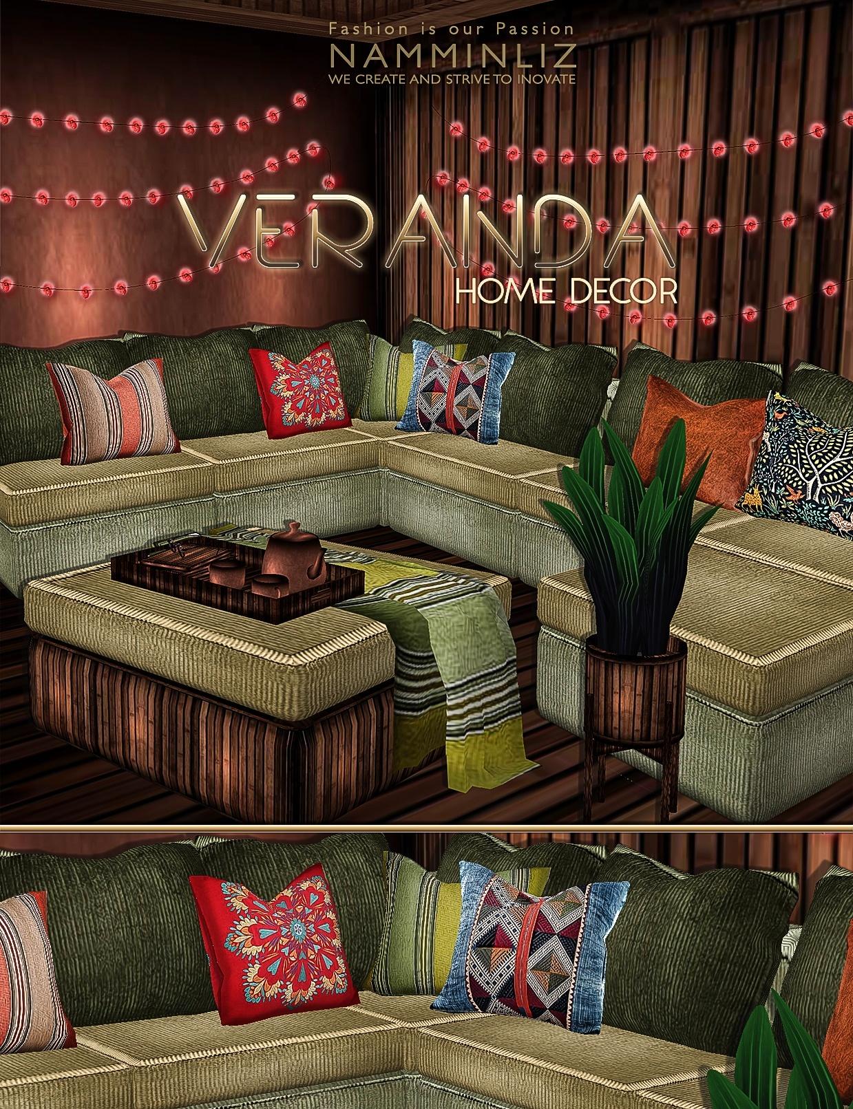 VERANDA Home decor imvu 30 Textures PNG & 15 *.CHKN