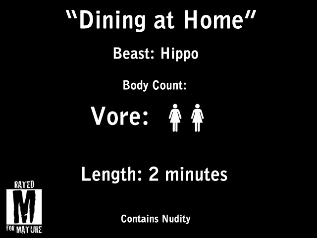 """""""Dining at Home"""" HD Vore (Contains Nudity)"""