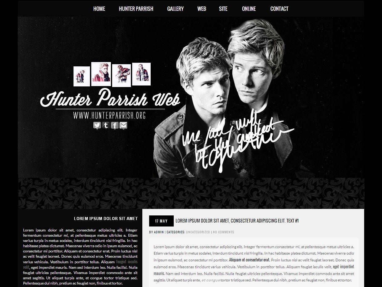 Wordpress premade #3