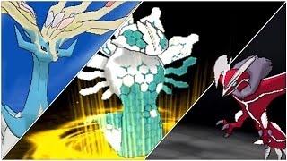 Shiny Legendary Pokemon Trio (Any Trio Of Your Choice)