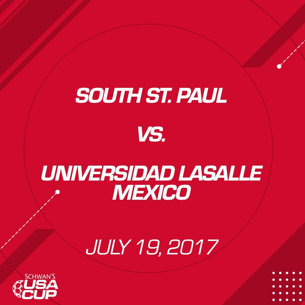 Girls U19 Silver - July 19, 2017 - South St. Paul vs Universidad LaSalle Mexico