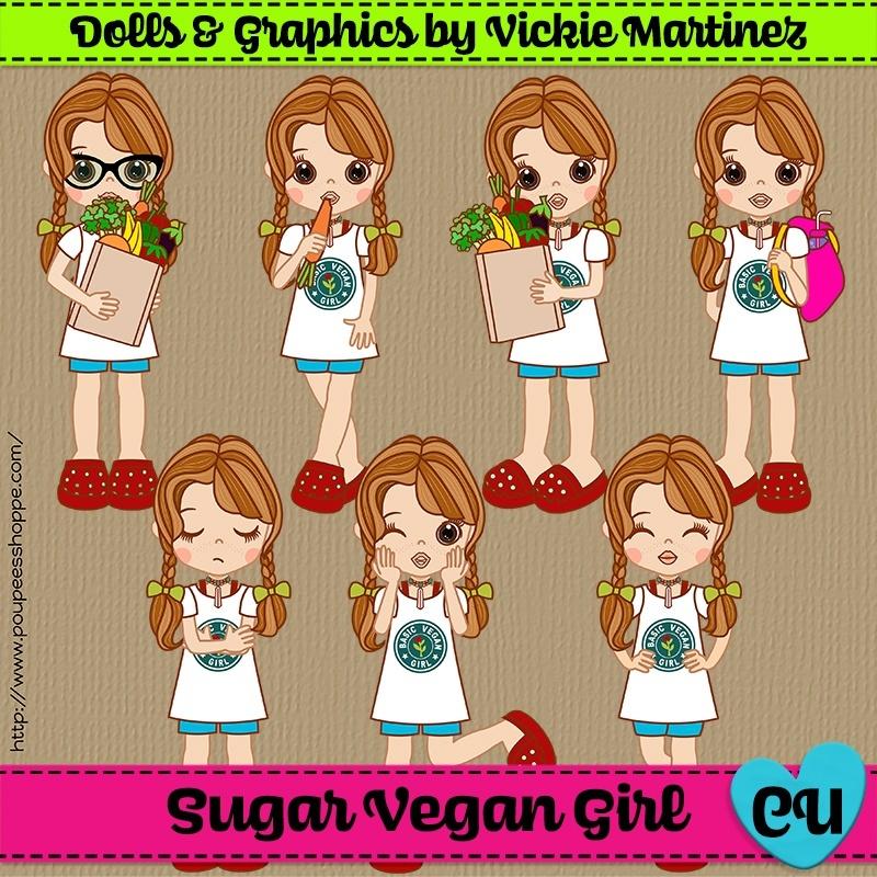 Sugar Vegan Girl