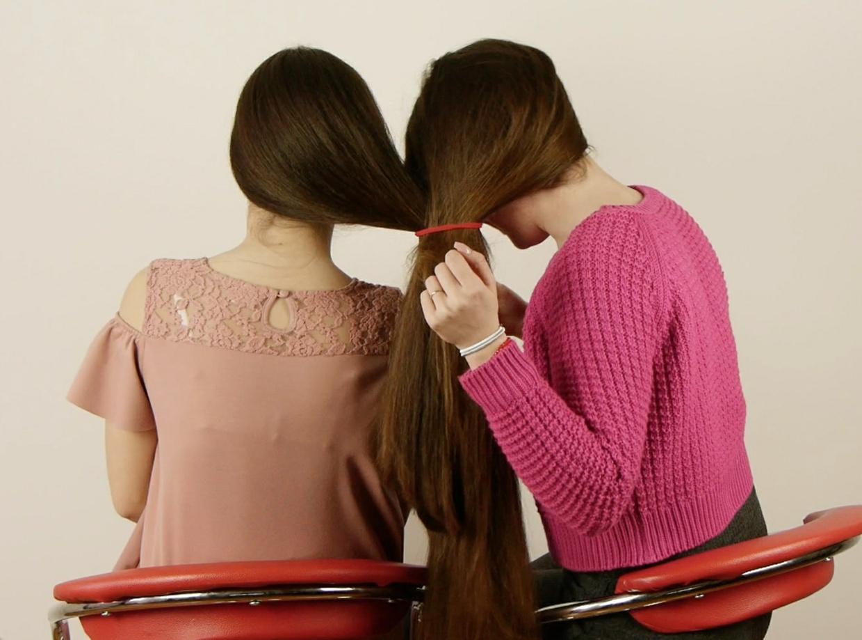 VIDEO - Suzana & Sladjana- Fun with braids