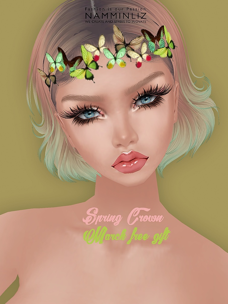 Happy March  imvu free gift ♥ Spring Crown