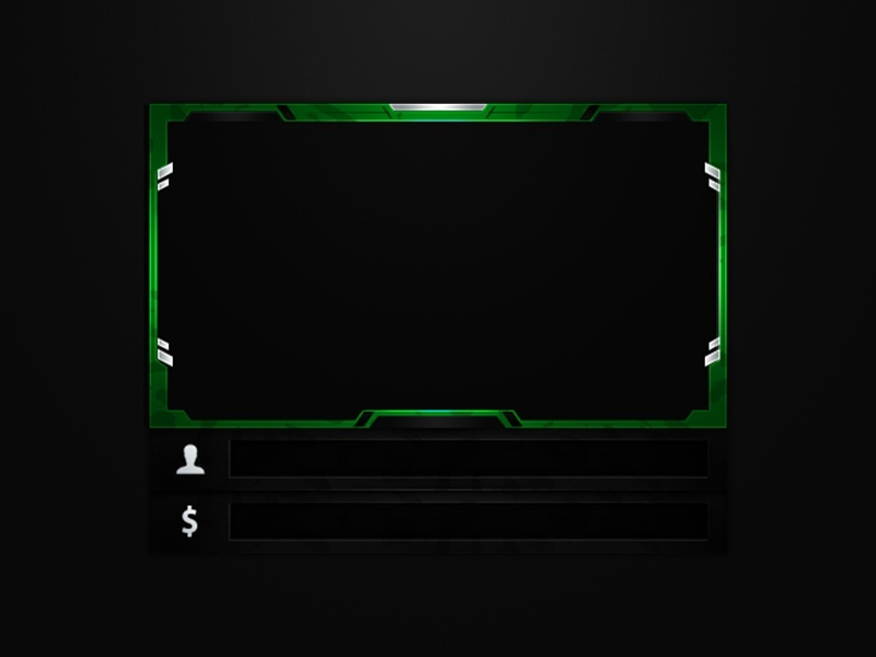 #14 Stream Twitch Cam Overlay inkl. (5 Styles)
