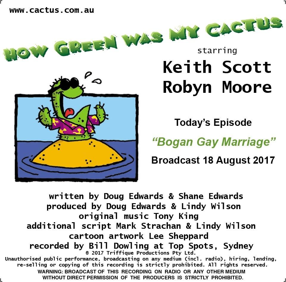 BOGAN GAY MARRIAGE (18.8.17)