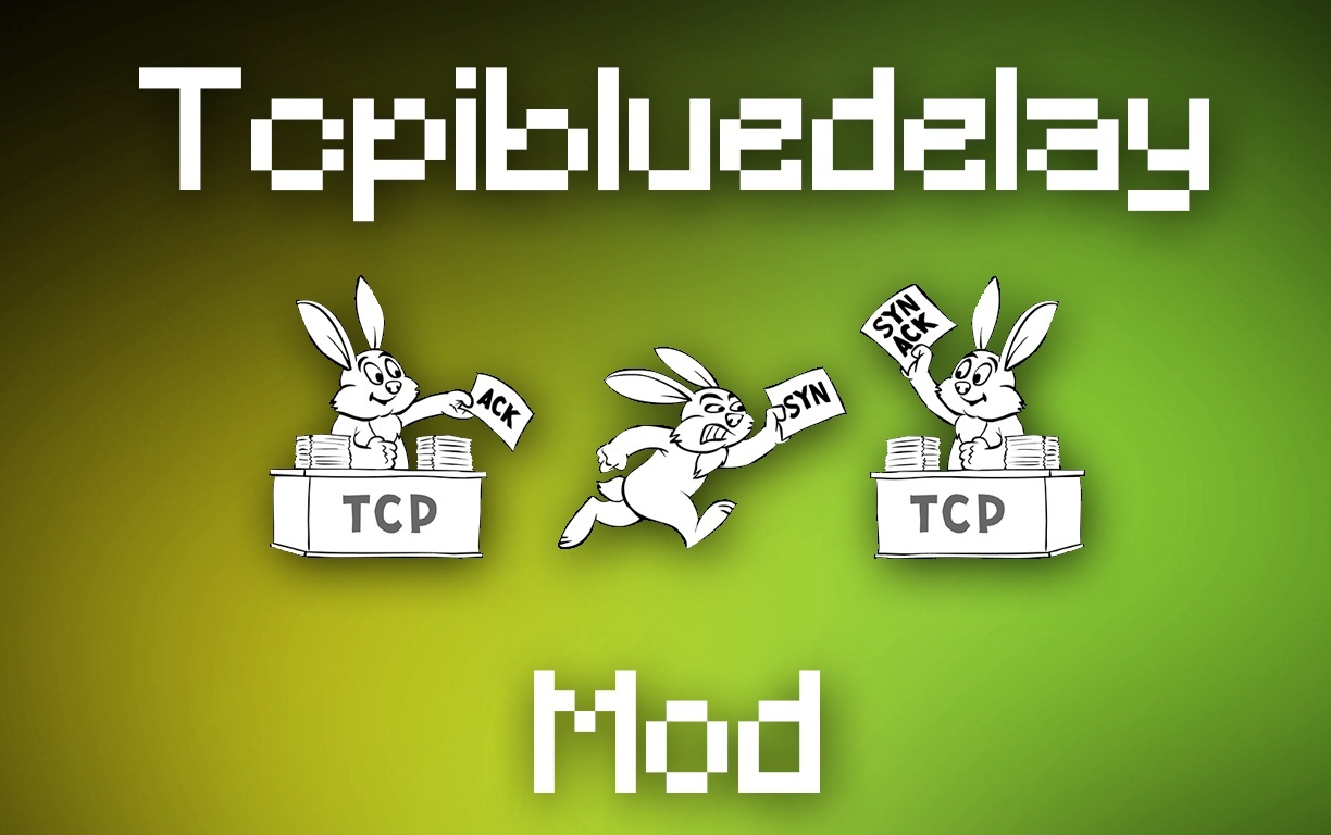 TCPIBLUEDELAY (Custom TCPNodelay)