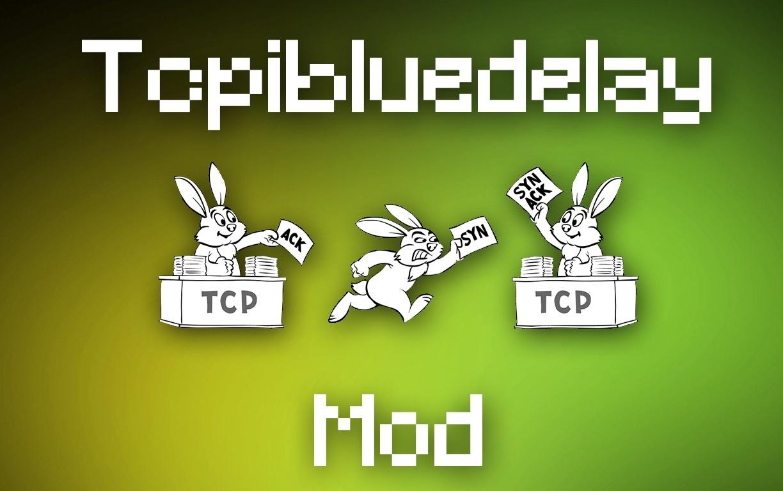 TCPIBLUEDELAY (Custom TCPNodelay)