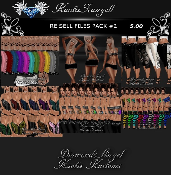Re Sell Files Pack #2