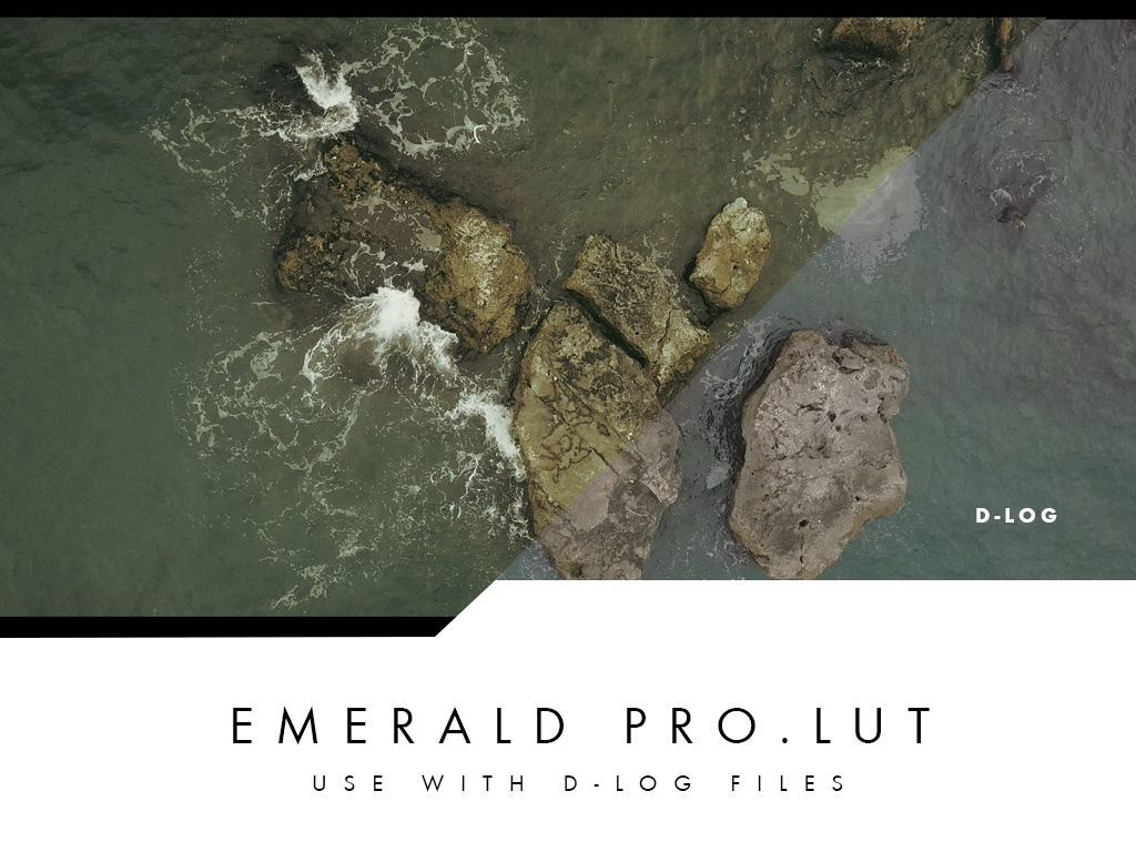 Professional Lut Pack for Mavic Pro  D-Log Files | 15 files pack