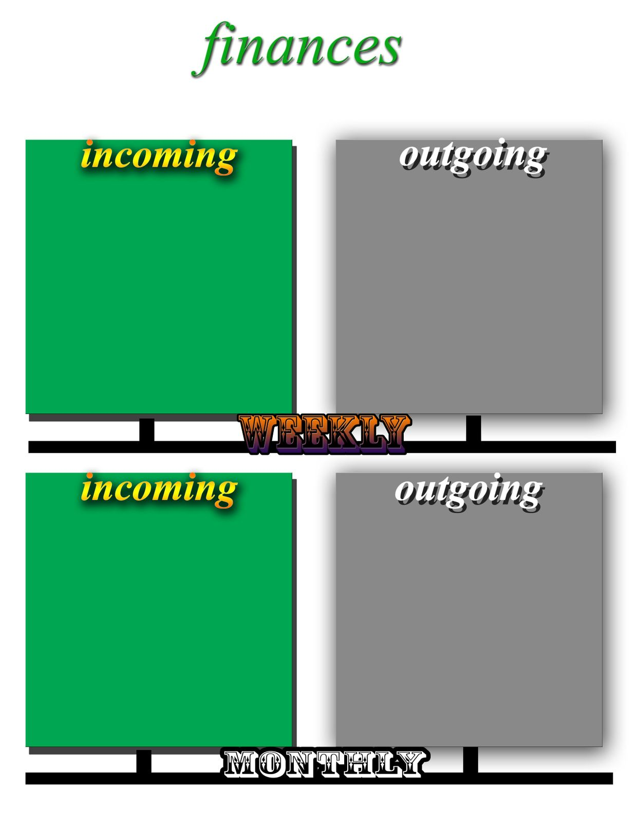 Finances planning image