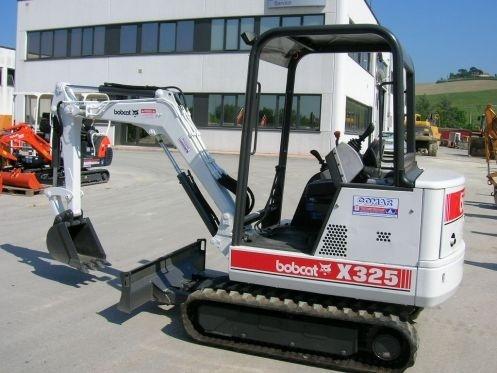 Bobcat X325 Hydraulic Excavator Service Repair Workshop Manual DOWNLOAD (S/N 511820001 & Above)
