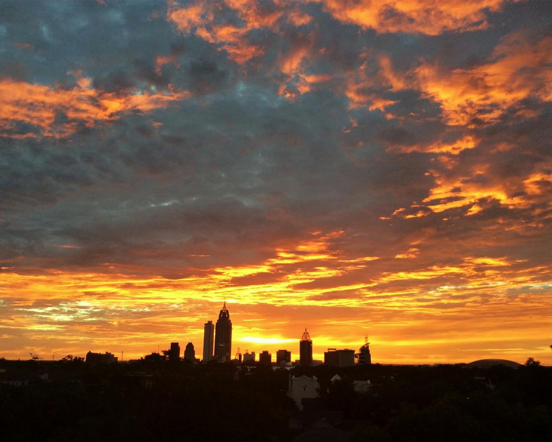071317HR1 - Mobile Skyline - 10x8 - Printable // Landscape