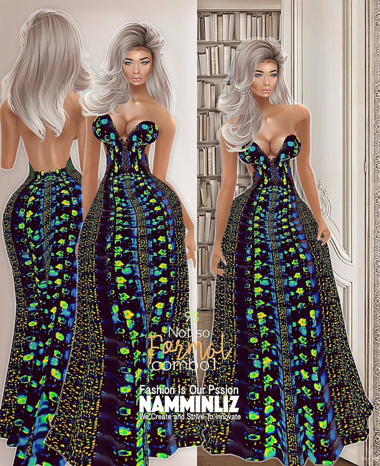 C O M B O1 Not so Formal Collection Dress Bibirasta all sizes
