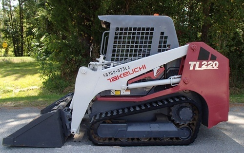 Takeuchi TL220 Track Loader Service Repair Workshop Manual Download (S/N: 222000001 & Above)