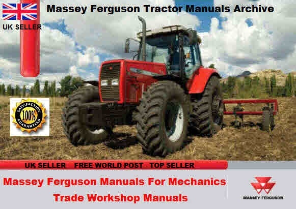 Massey Ferguson Tractors Manuals for Mechanics