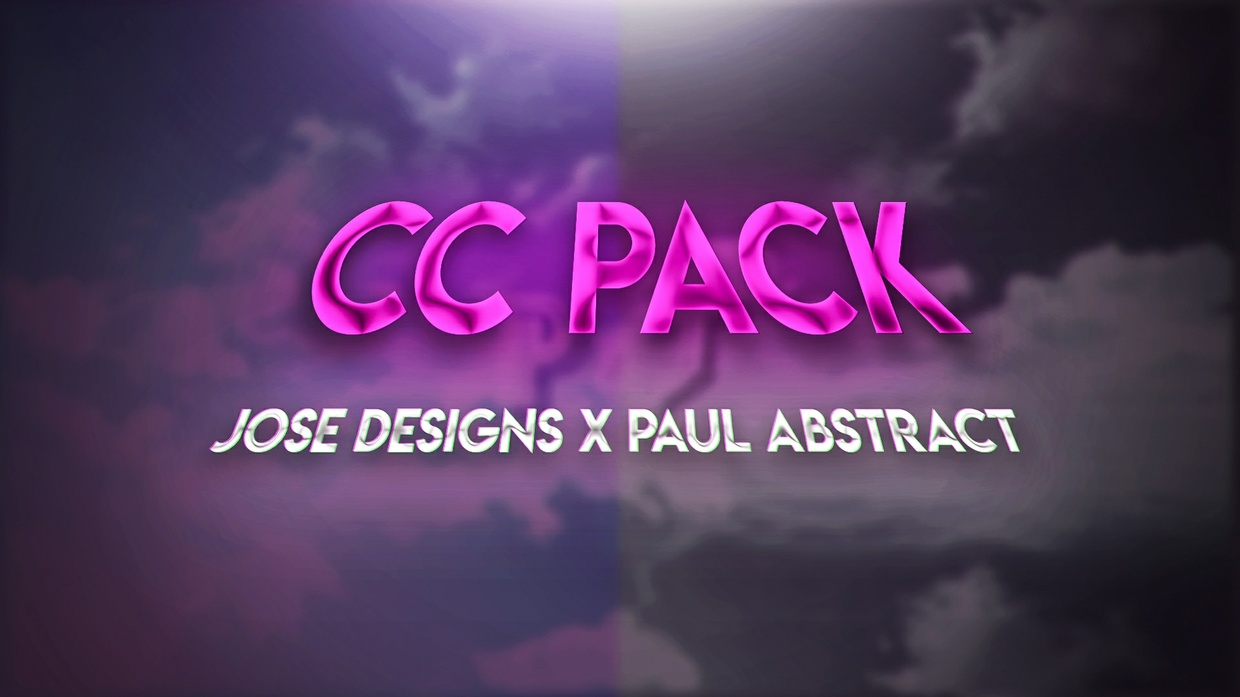 CC Pack By Jose Designs X Paul Abstract