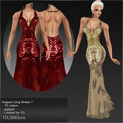 2013 Aug Long Dress # 7