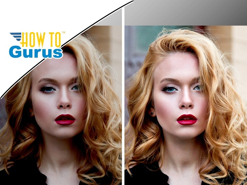 Photoshop Elements Dodge and Burn Tutorial : Portrait Editing in 15 14 13 12 11