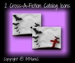 2 Cross-A-Fiction Catalog Icons
