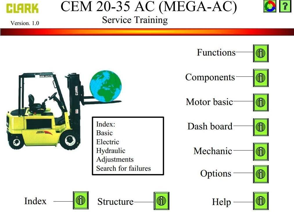 clark c30 forklift service manual