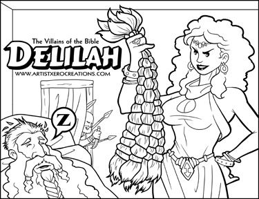 The Villains Of The Bible Delilah